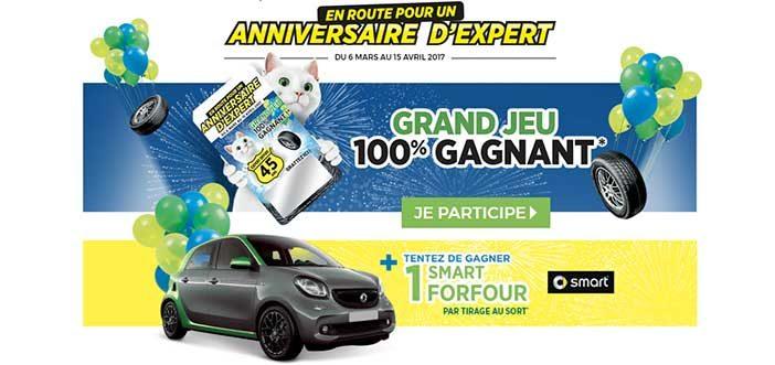 Grand Jeu Anniversaire Feu Vert 2017
