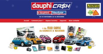 www.dauphicash.fr - Grand Jeu Dauphicash 2017