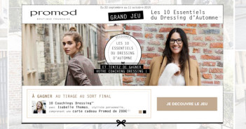 Grand Jeu Promod Dressing Day