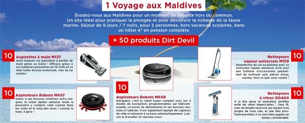 Grand Jeu Dirt Devil Destination Maldives