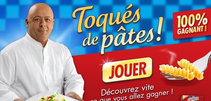 Jeu Concours Lustucru Toqués de Pâtes