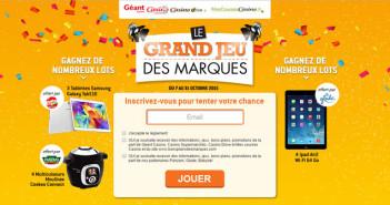 Grand Jeu des Marques Géant Casino