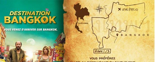 Jeu Pathé Films Destination Bangkok