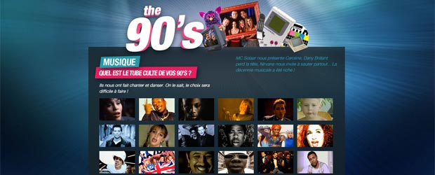 Jeu The 90's La Décennie des Connexions