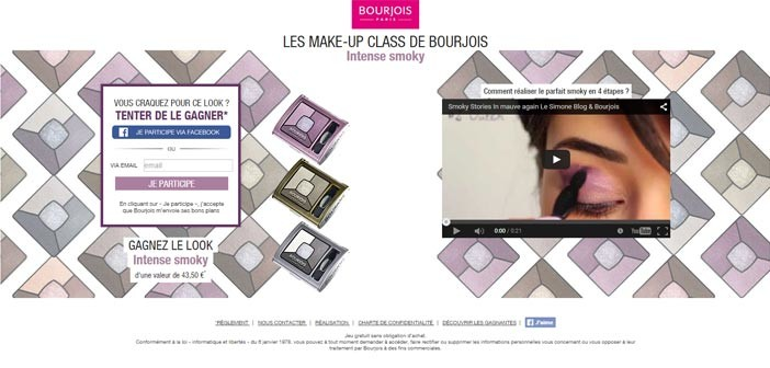 Grand Jeu Bourjois Les Make-Up Class