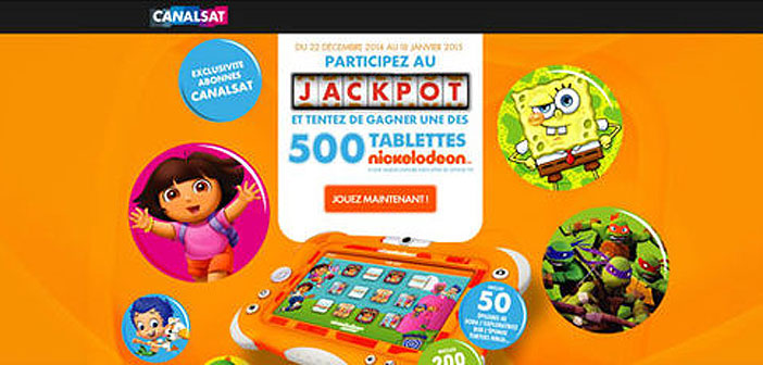 Grand Jeu Canalsat Nickelodeon