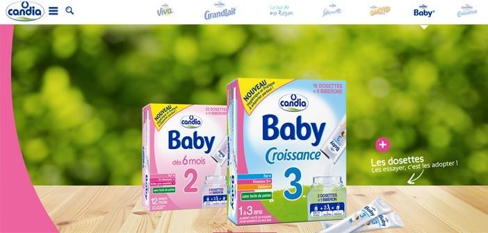 Grand Jeu Candia Baby Les dosettes pratiques