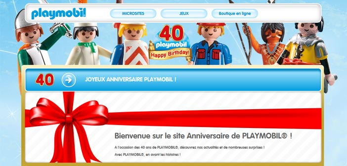 jeu anniversaire 40 ans playmobil bestofconcours. Black Bedroom Furniture Sets. Home Design Ideas