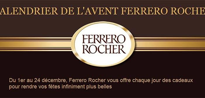 Jeu Calendrier de l'avent Ferrero Rocher