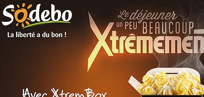 Jeu Concours Sodebo Xtrem Box
