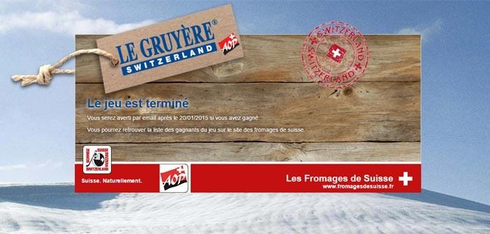 Jeu Le Gruyère AOP Suisse, Star de la TV