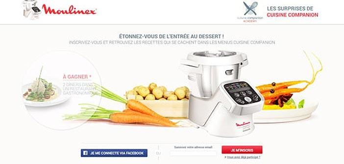 Jeu Moulinex Surprises en Cuisine