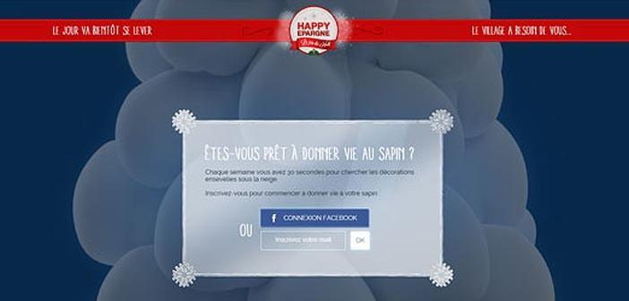 Grand Jeu Happy Épargne Noël