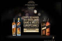 Grand Jeu Johnnie Walker Tour