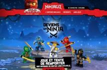 Jeu Concours Lego Ninjago Deviens un Ninja