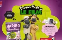 Jeu Haribo Shaun le mouton Chamallows