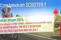Jeu Concours Castrol Gagnez un scooter