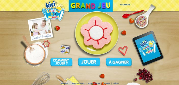 Grand Jeu Kiri Cuisine à 4 Mains – Kiri.fr
