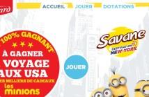Grand Jeu Savane Les Minions
