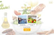 Jeu Concours Sodebo Les Toqués de Salades