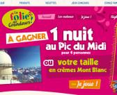Jeu Mont Blanc Folie des Grandeurs – Desserts-montblanc.fr