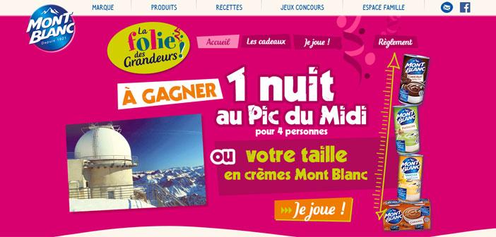 Desserts-montblanc.fr – Jeu Mont Blanc Folie des Grandeurs