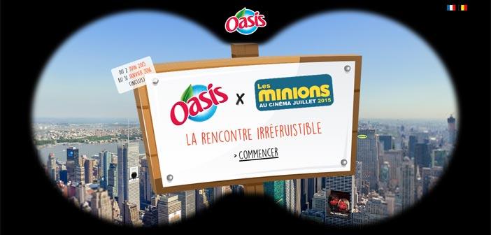 Jeu Concours Les Minions Oasis