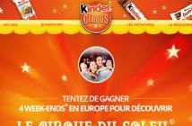 Grand Jeu Kinder Circus