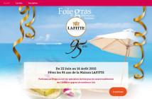 Jeu Concours Lafitte Foie-Gras