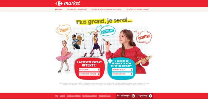 Jeu Carrefour Plus Grand Je Serai