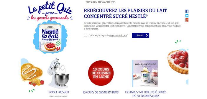 Jeu Lait Concentré Sucré Nestlé – Croquonslavie.fr