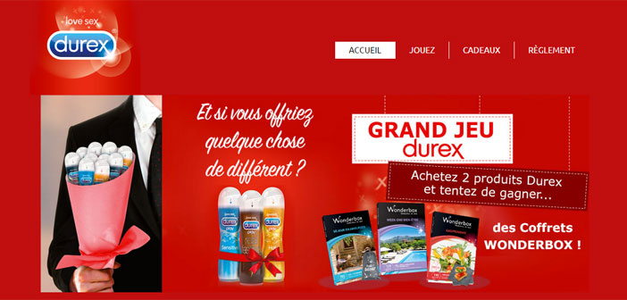 Grand Jeu Concours Durex