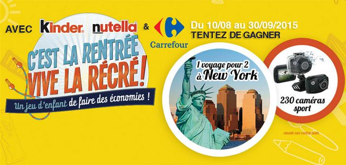 Grand Jeu Ferrero Vive la Rentrée