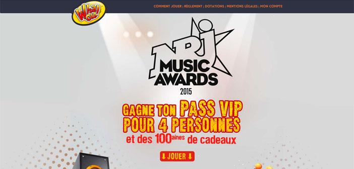Grand Jeu Whaou NRJ Music Award