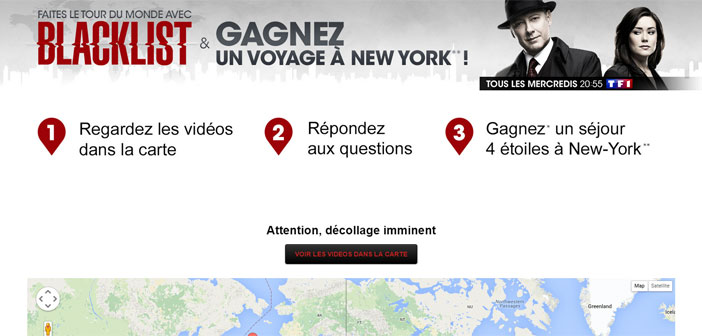 Jeu TF1 Tour du monde avec Blacklist – TF1.fr