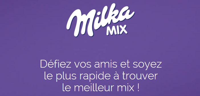 Grand Jeu Milka Mix