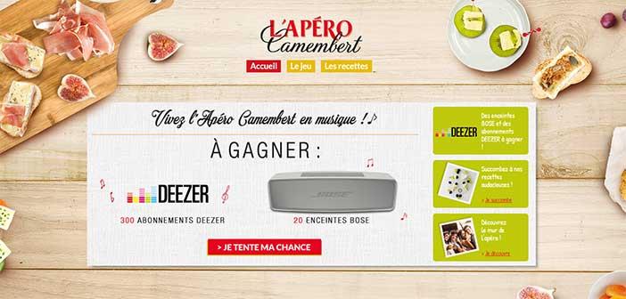 www.aperocamembert.fr - Jeu L'Apéro Camembert Président
