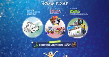Jeu Instant gagnant Héros Disney Pixar