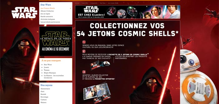 e leclerc jeu star wars cosmic shells or e bestofconcours. Black Bedroom Furniture Sets. Home Design Ideas