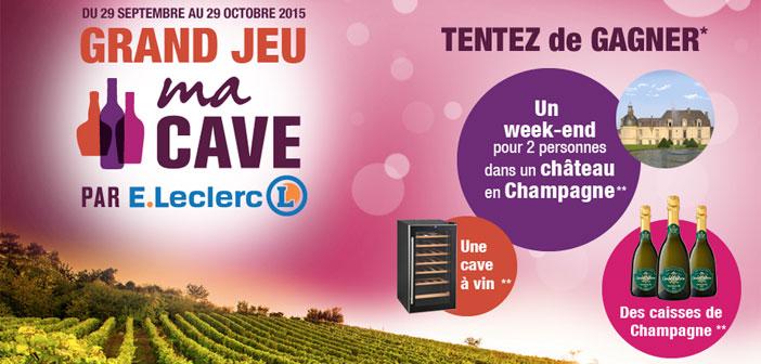 Vin.e-leclerc.com – Grand Jeu Ma Cave E.Leclerc