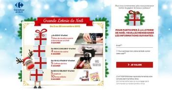 Grande Loterie de Noël Carrefour Drive