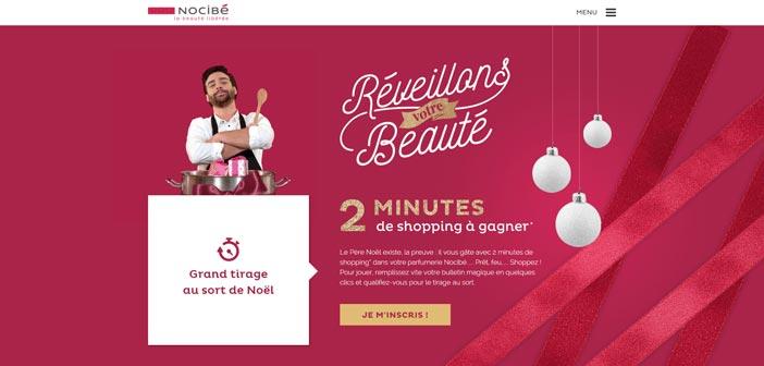 Nocibe.fr – Grand Jeu Réveillons votre beauté Nocibé