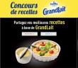 Concours de Recettes GrandLait Candia