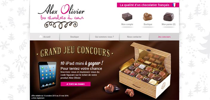 grand jeu concours alex olivier bestofconcours. Black Bedroom Furniture Sets. Home Design Ideas