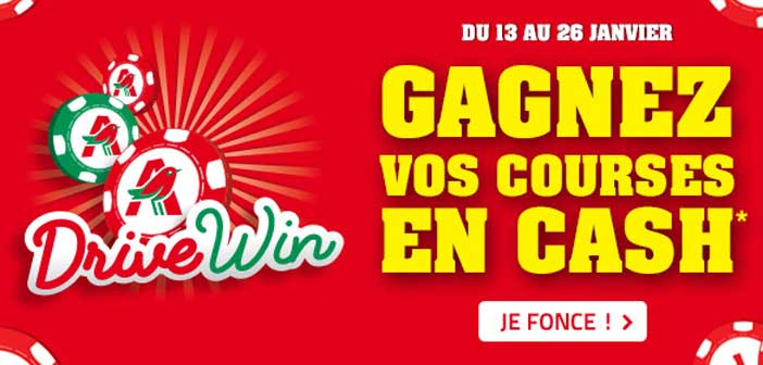 Grand Jeu Auchan Drive Win