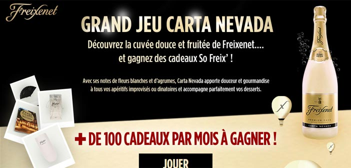 Grand Jeu Freixenet Carta Nevada