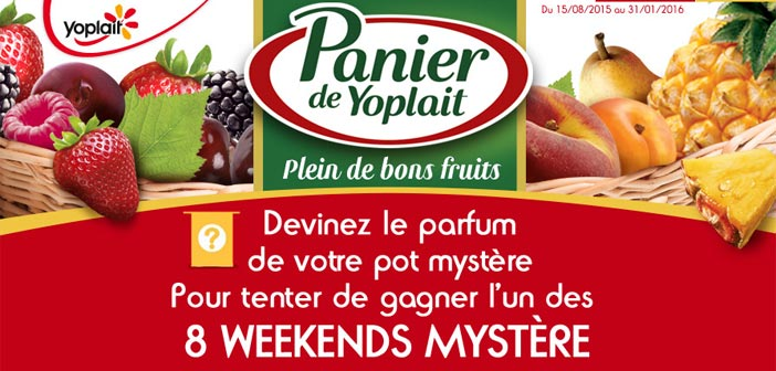 Grand Jeu Pot Mystère Yoplait