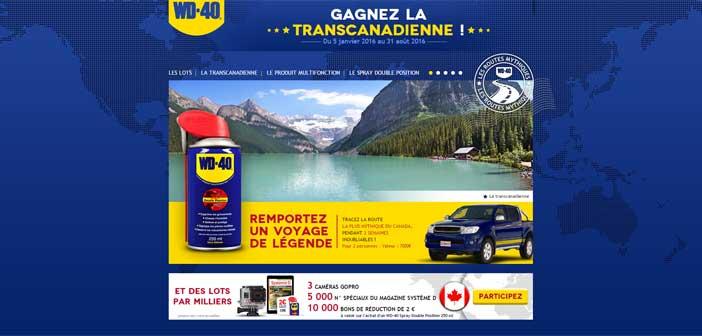 Grand Jeu Concours Wd40 Canada