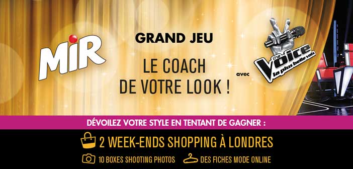 Grand Jeu Mir The Voice 2017