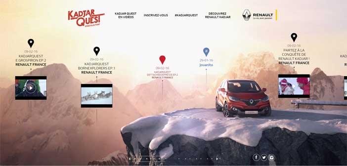 Grand Jeu Renault Kadjar Quest